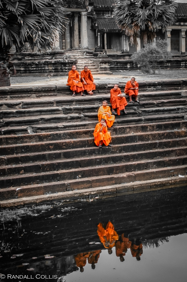 Reflections of the Monks