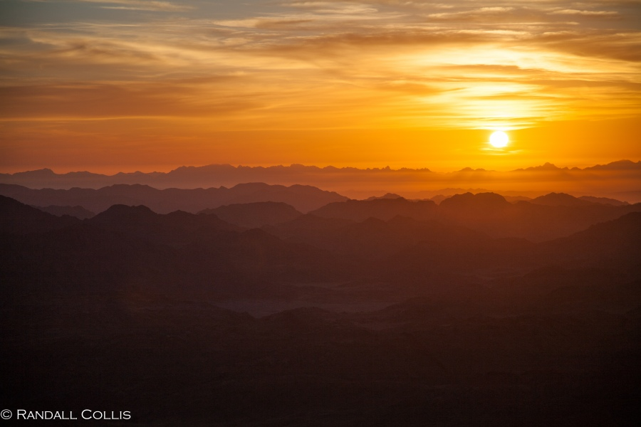 Mt. Horeb - Sinai Sunrise-777