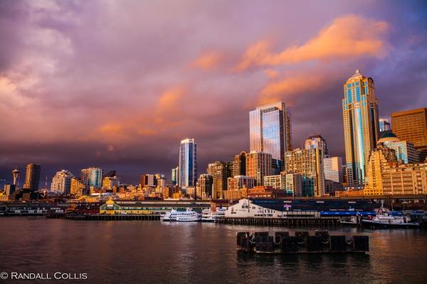 Seattle at Twilight