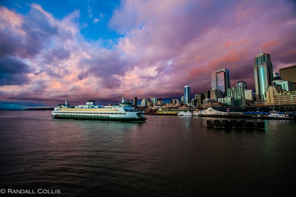Washington State Ferry Bremerton to Seattle