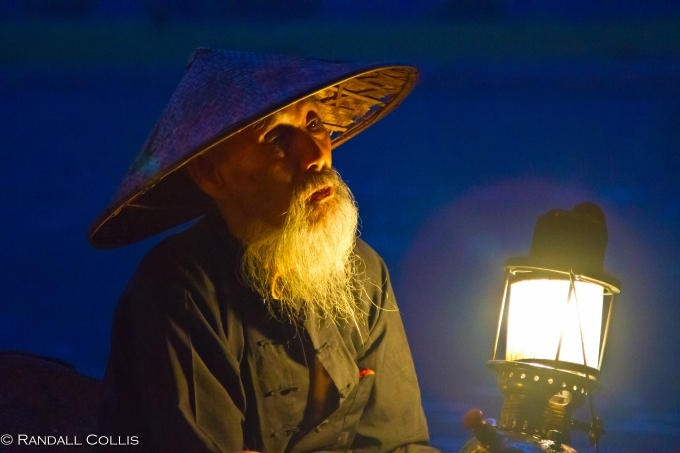 Li River Cormorant Fisherman at Dusk