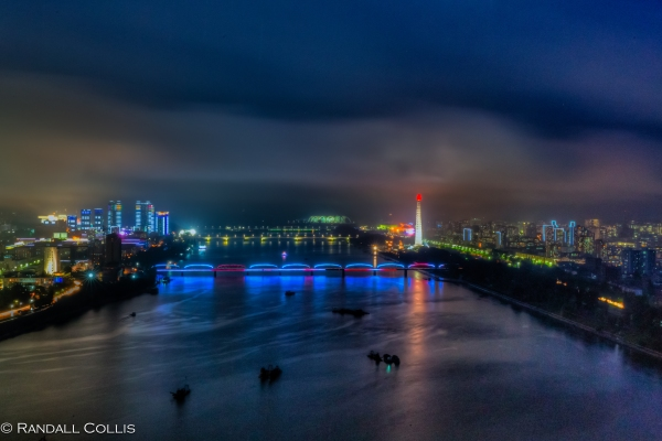 DPRK Moonlight Over Pyongyang-1