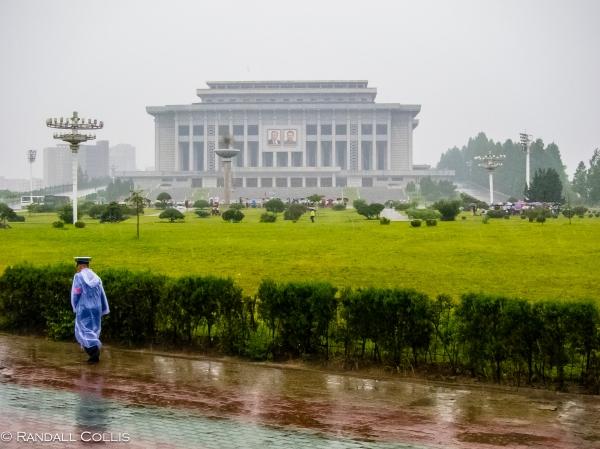 Entering Pyongyang