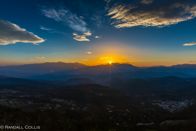 Crisp Wide-Angle of the Yunnan Countryside