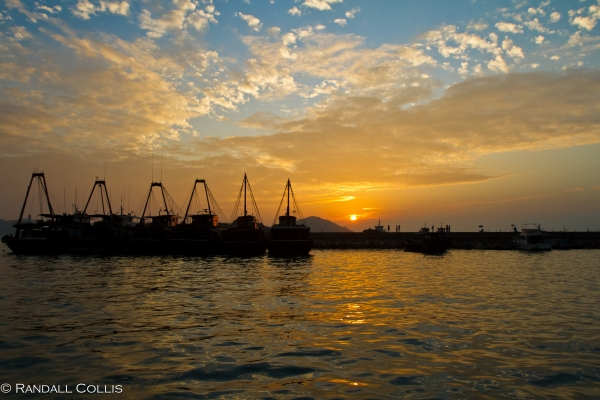 Aberdeen Harbor Sunset-1