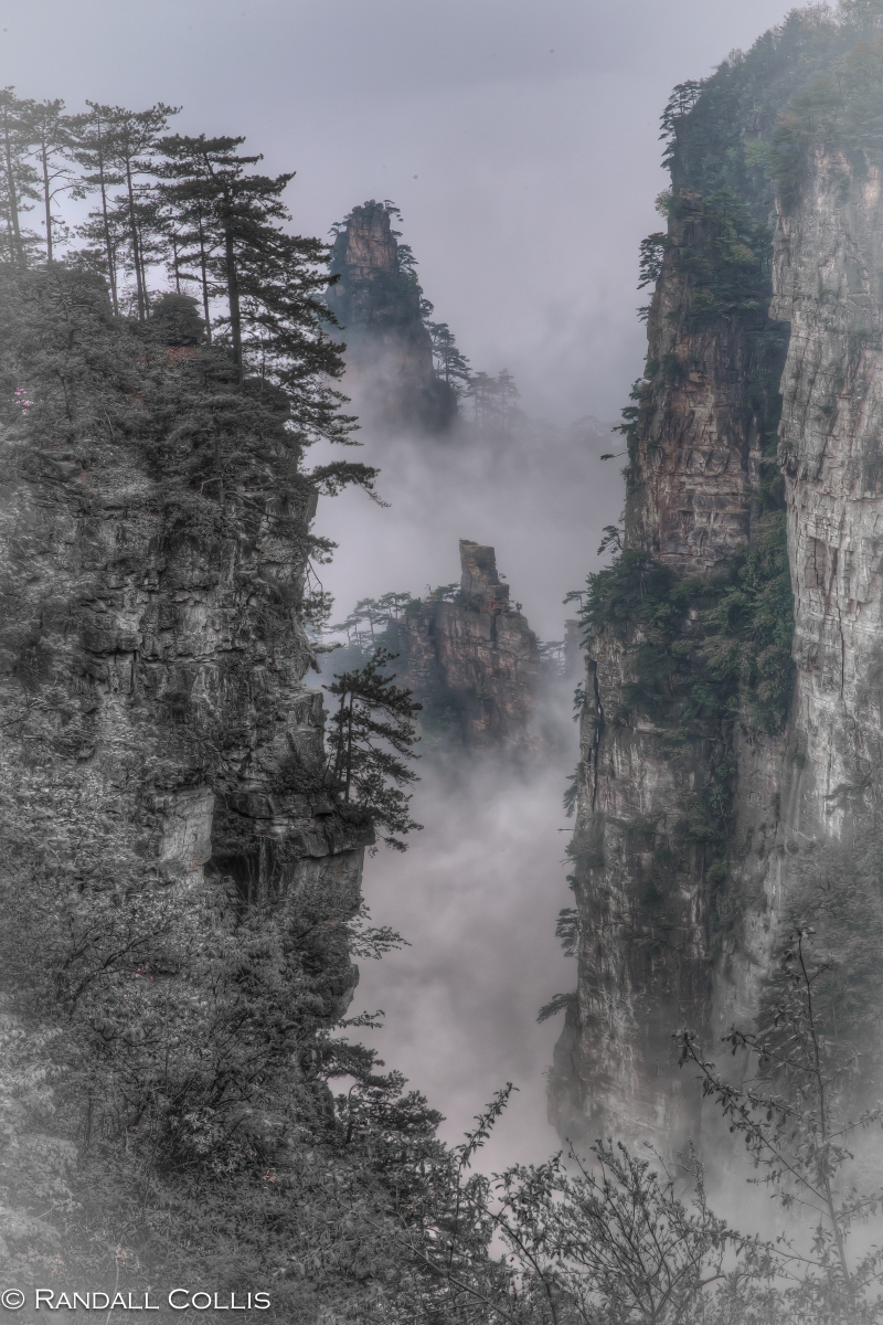 The Hallelujah Mountains of Hunan