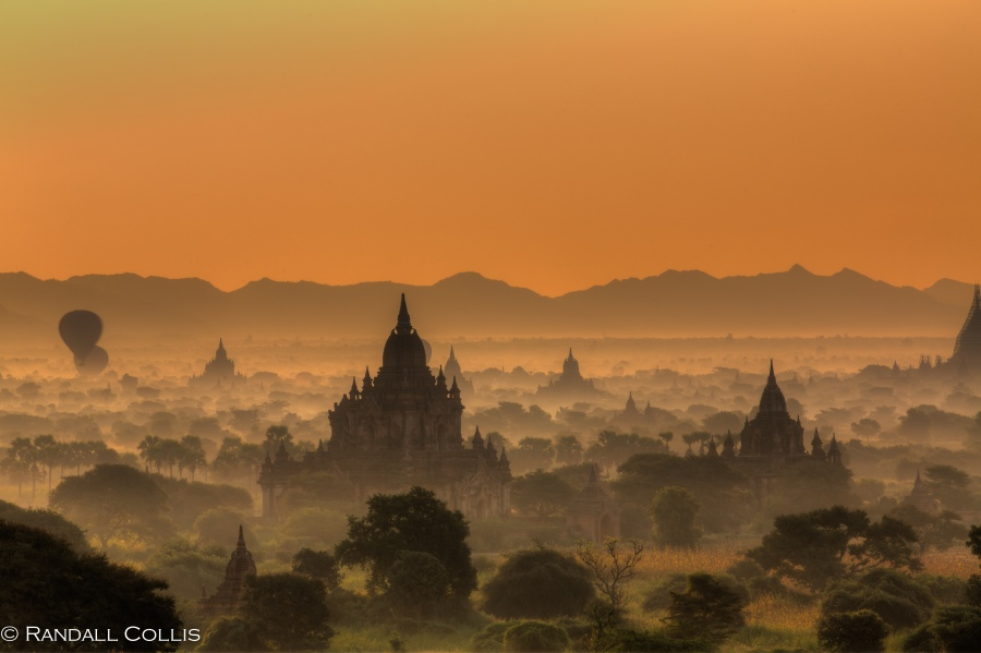 Bagan Myanmar Golden Hour - Blue Hour-10