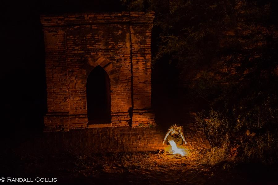 Bagan Myanmar Golden Hour - Blue Hour-4
