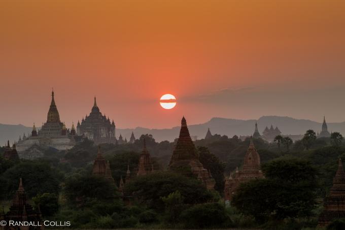 Bagan Myanmar Golden Hour - Blue Hour-78