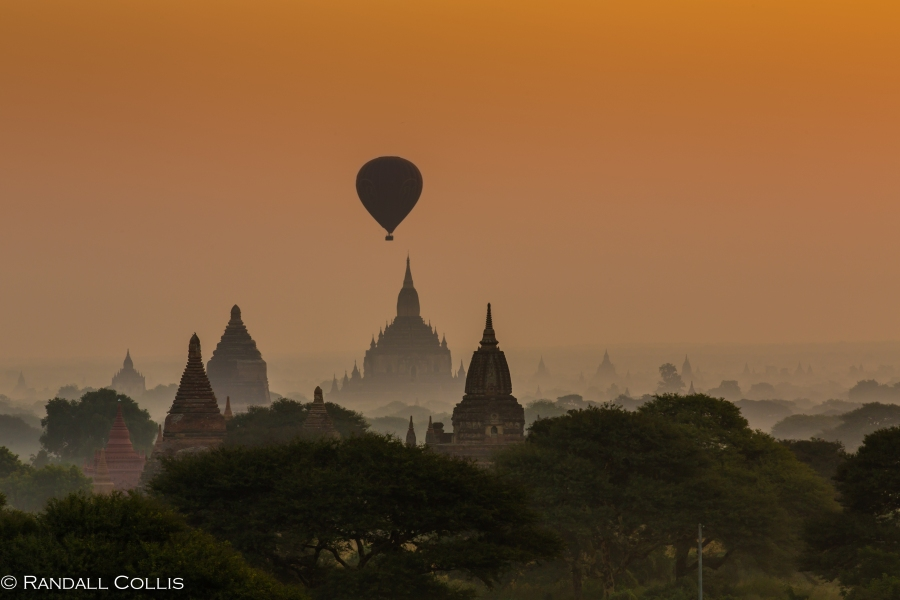 Bagan Myanmar Golden Hour - Blue Hour-79