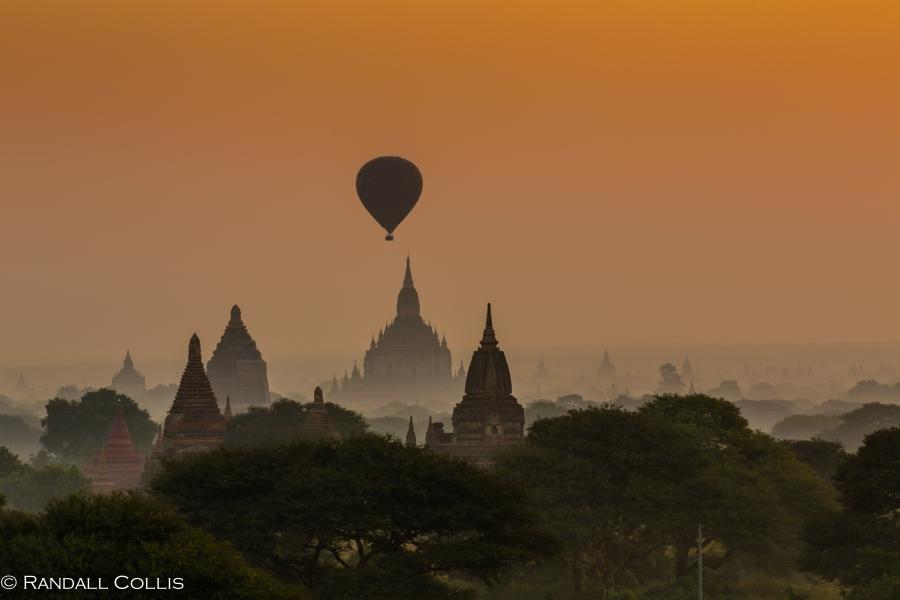 Bagan Myanmar Golden Hour - Blue Hour-79