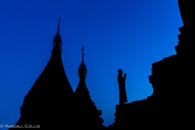 Bagan Myanmar Golden Hour - Blue Hour-8