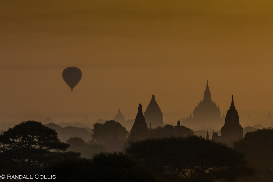 Bagan Myanmar Golden Hour - Blue Hour-81