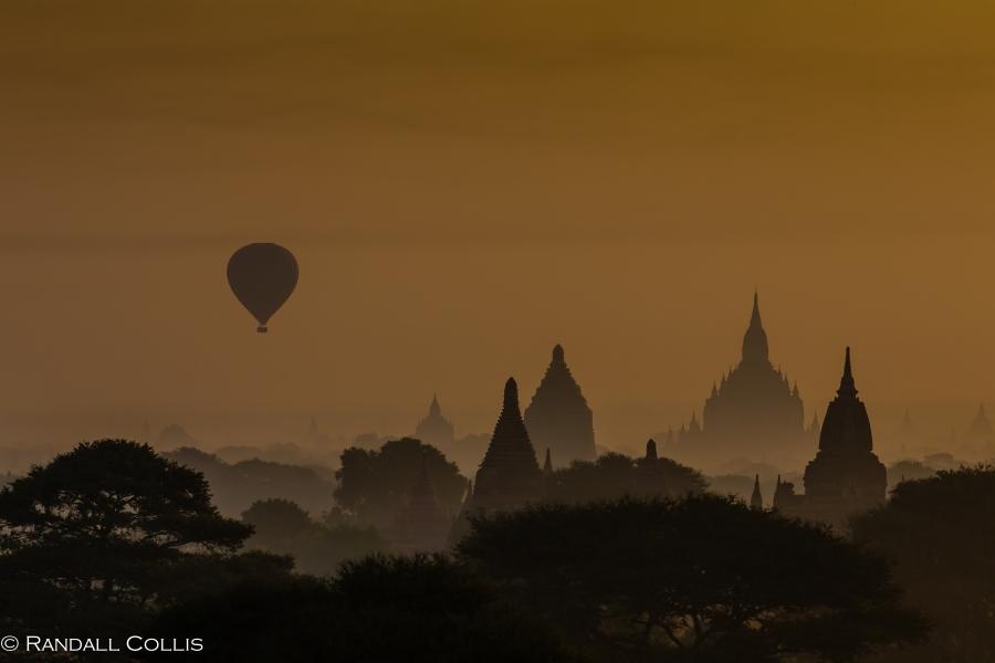 Bagan Myanmar Golden Hour - Blue Hour-81