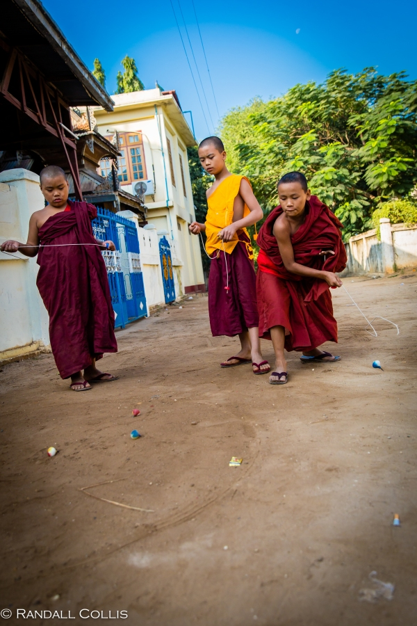 Monks at Play Myanmar - Men In Management-5