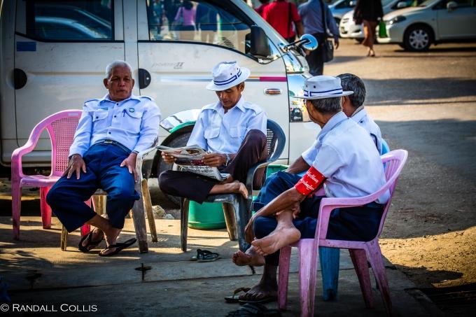 Yangon Myanmar - Men In Management-6