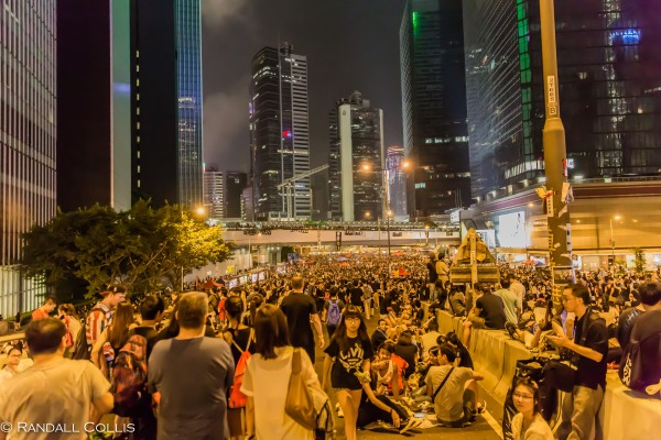 Hong Kong Democracy and Umbrella Revolution-13