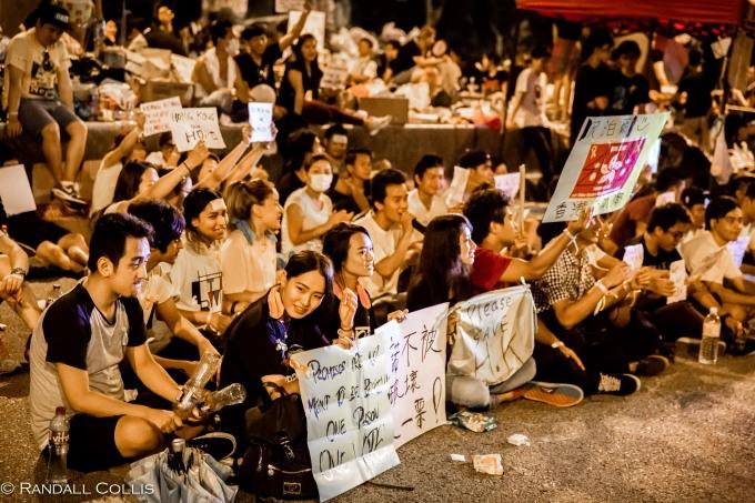 Hong Kong Democracy and Umbrella Revolution-15