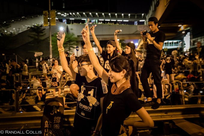 Hong Kong Democracy and Umbrella Revolution-17