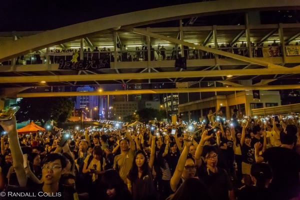 Hong Kong Democracy and Umbrella Revolution-19