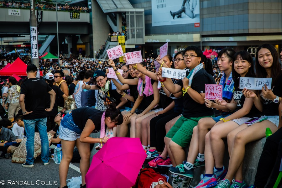 Hong Kong Democracy and Umbrella Revolution-2