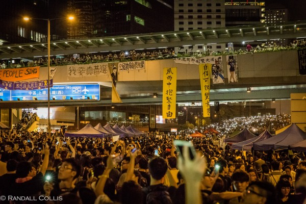 Hong Kong Democracy and Umbrella Revolution-21