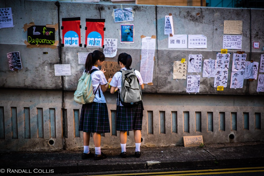Hong Kong Democracy and Umbrella Revolution-28