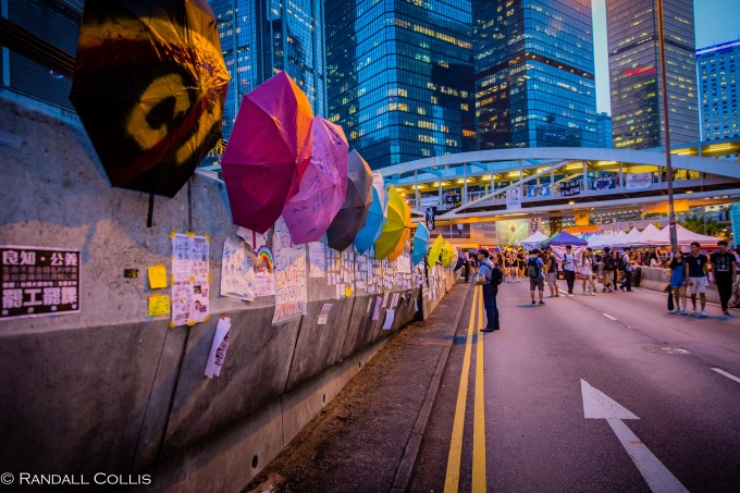 The Umbrella Revolution ~ laying down the roadwork for PEACE and unity with Beijing.