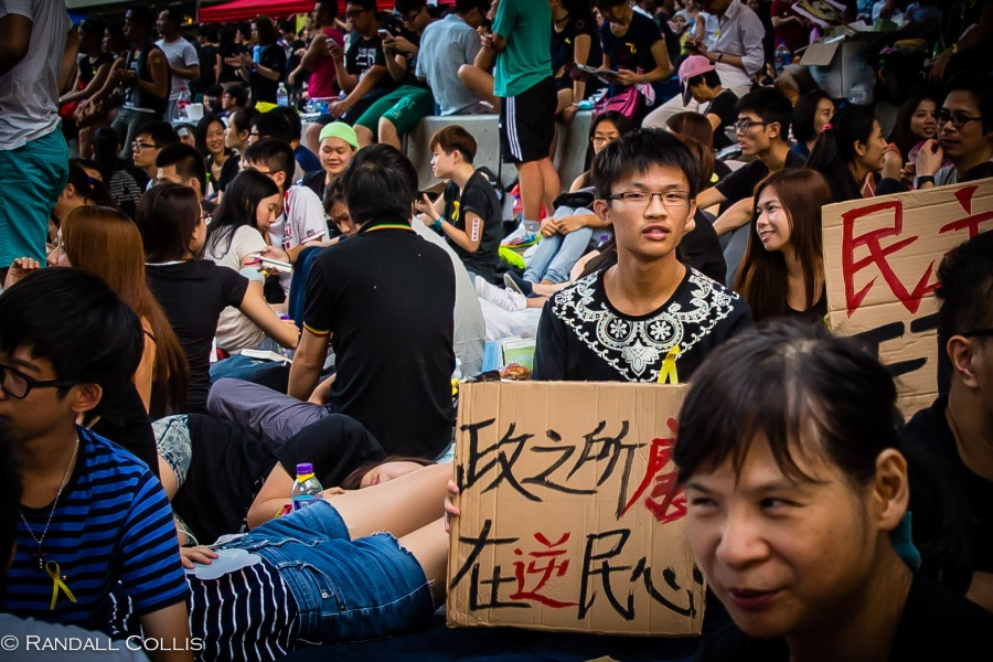 Hong Kong Democracy and Umbrella Revolution-3