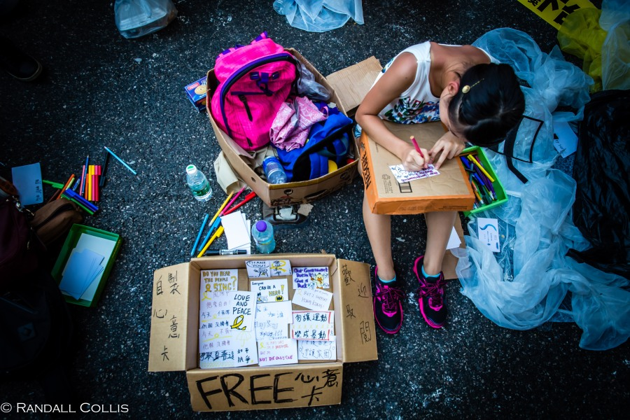 Hong Kong Democracy and Umbrella Revolution-5