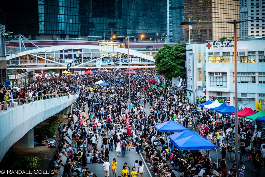 Hong Kong Democracy and Umbrella Revolution-7