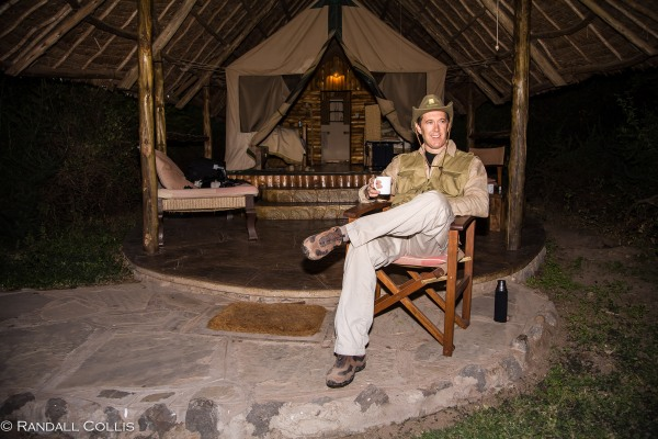 Pre-Dawn Coffee ~ Best Campsite I've Experienced :-)