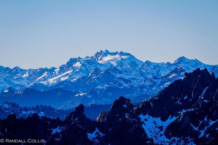Mt. Ellinor and Skokomish Mountain Goats-4