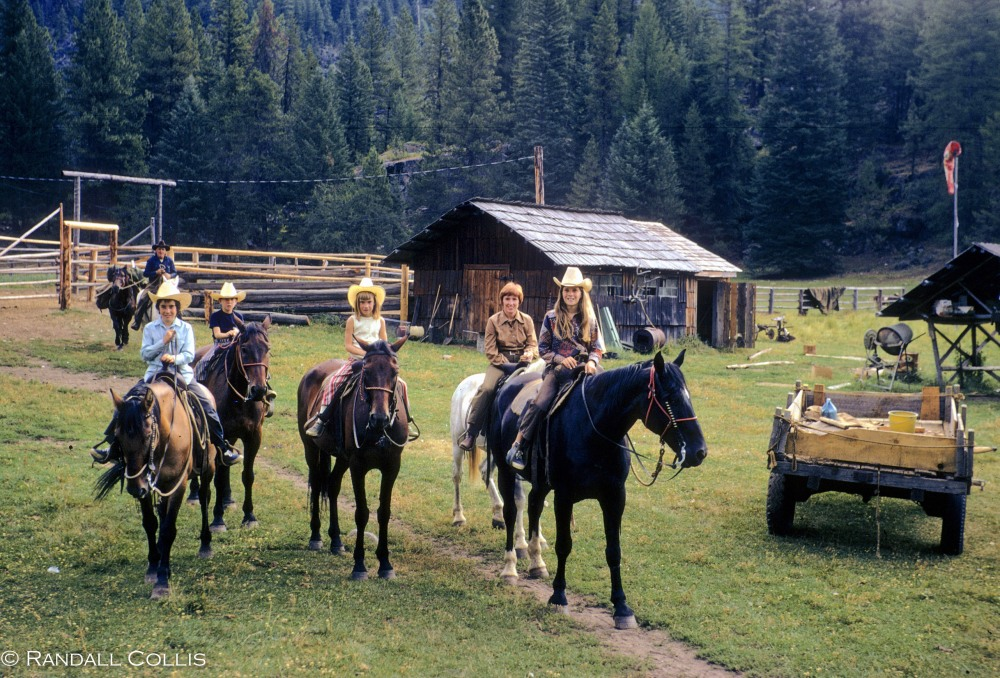Horse Ranch on the Minam River, Wallowa Mountains
