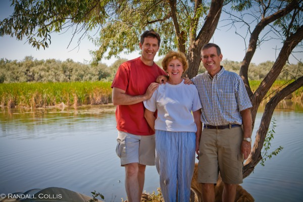 Parents and I at Lane-Riley Pond