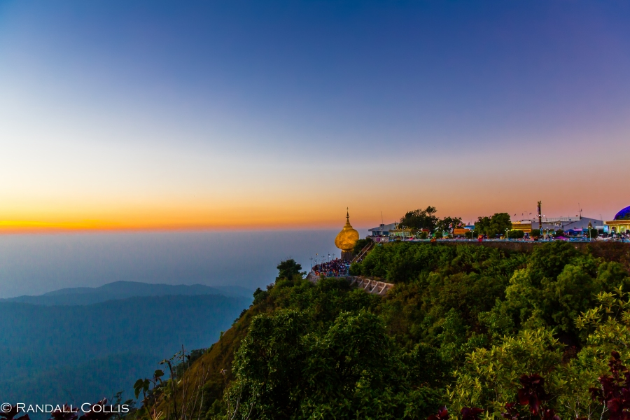 Mt. Kyaiktiyo Myanmar Burma New Year-1