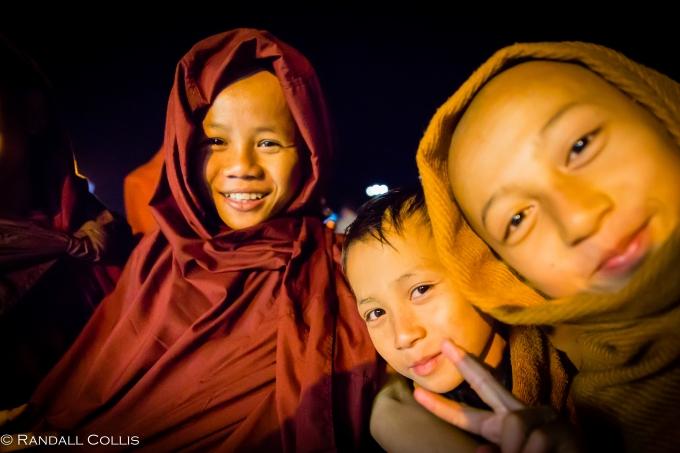 Mt. Kyaiktiyo Myanmar Burma New Year-13