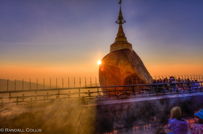 Mt. Kyaiktiyo Myanmar Burma New Year-4