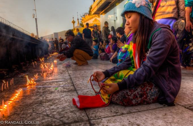 Mt. Kyaiktiyo Myanmar Burma New Year-9