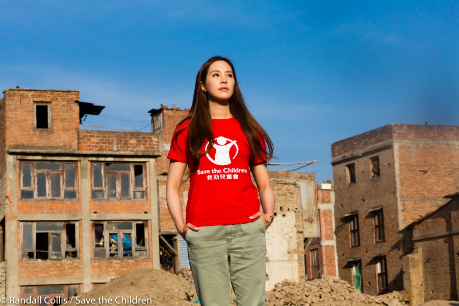An Angel in Nepal ~ One Year on from the Nepal Earthquakes, Kathmandu - Save the Children Hong Kong-10