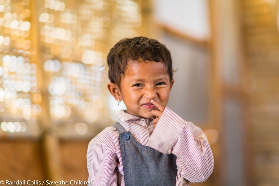 An Angel in Nepal ~ One Year on from the Nepal Earthquakes, Kathmandu - Save the Children Hong Kong-11