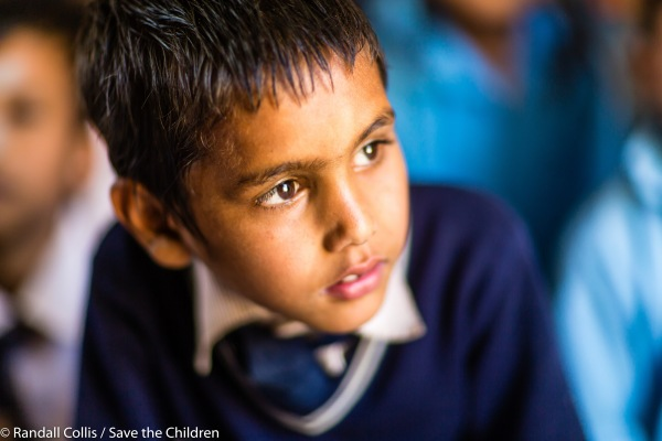 An Angel in Nepal ~ One Year on from the Nepal Earthquakes, Kathmandu - Save the Children Hong Kong-12