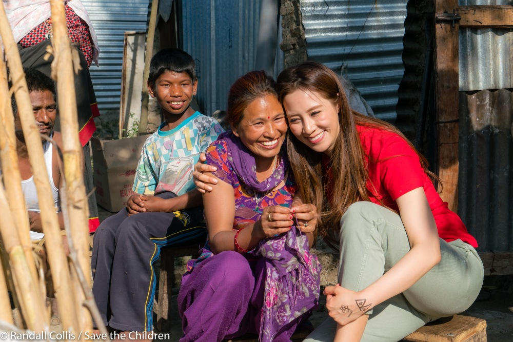 An Angel in Nepal ~ One Year on from the Nepal Earthquakes, Kathmandu - Save the Children Hong Kong-15