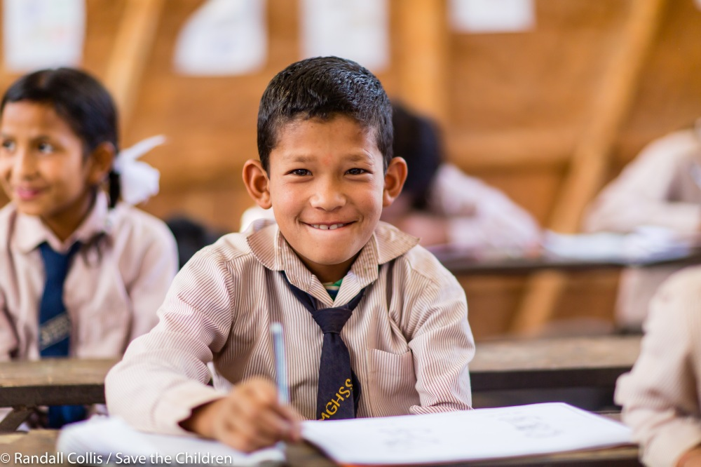 An Angel in Nepal ~ One Year on from the Nepal Earthquakes, Kathmandu - Save the Children Hong Kong-19
