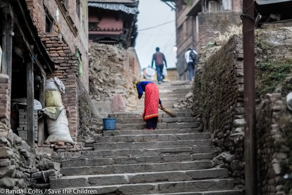 An Angel in Nepal ~ One Year on from the Nepal Earthquakes, Kathmandu - Save the Children Hong Kong-2