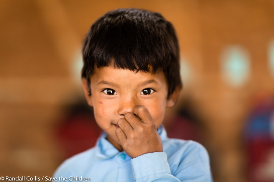 An Angel in Nepal ~ One Year on from the Nepal Earthquakes, Kathmandu - Save the Children Hong Kong-5