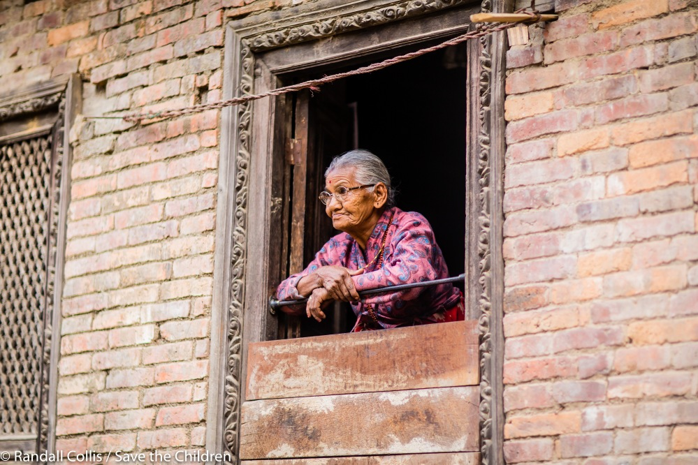 An Angel in Nepal ~ One Year on from the Nepal Earthquakes, Kathmandu - Save the Children Hong Kong-9